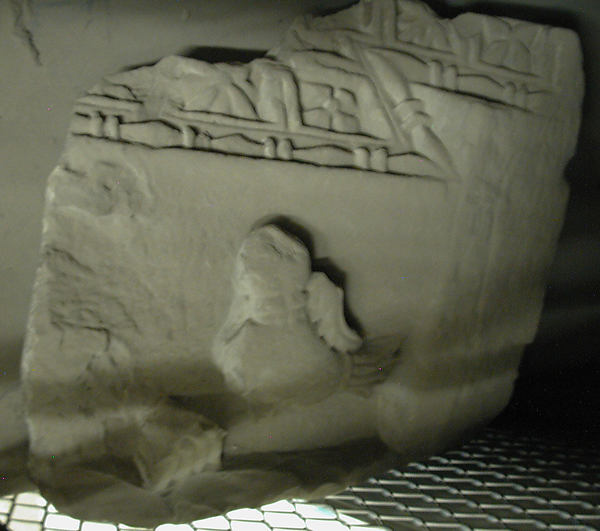 Fragment of a Cornice, Limestone