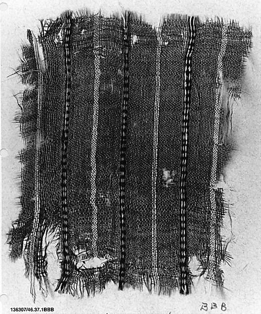Fragment, Silk; woven