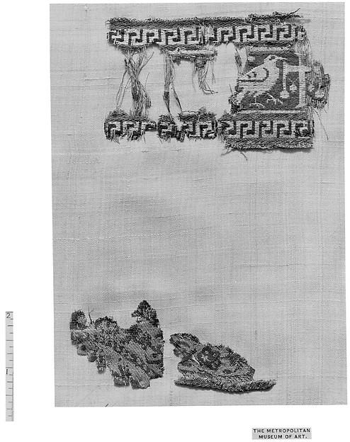 Fragment, Silk: double weave (?)