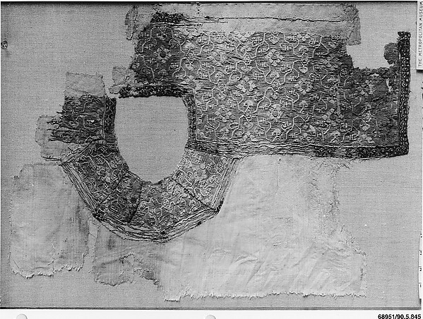 Fragment of a Tunic, Linen, wool