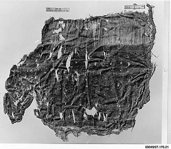 Fragment, Cotton and silk