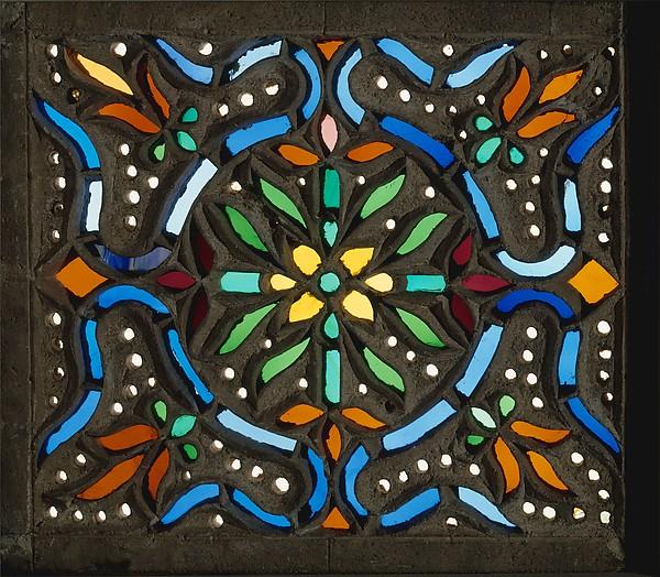 Window, Stained glass, gypsum