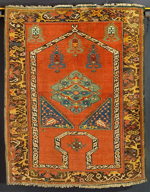 """""""Bellini"""" carpet, Wool (warp, weft, and pile); symmetrically knotted pile"""