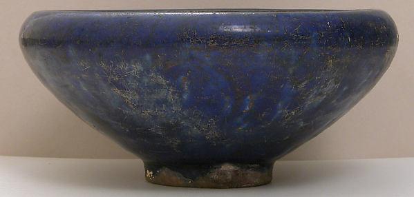 Bowl, Earthenware; glazed