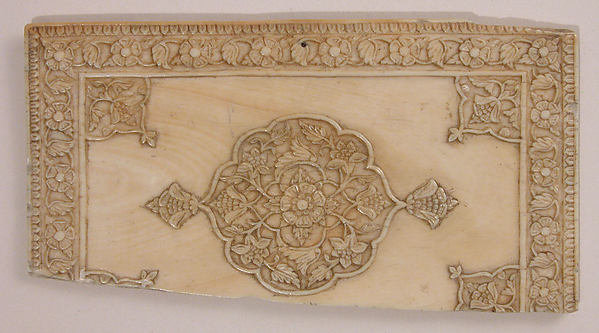 Fragment of a Box, Ivory: carved