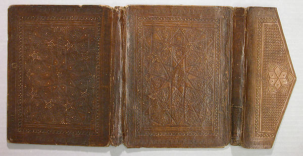 Bookbinding, Leather; stamped and gilded