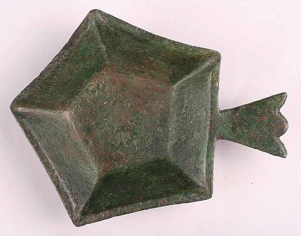 Dish, Bronze; cast