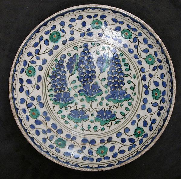 Dish, Earthenware; glazed