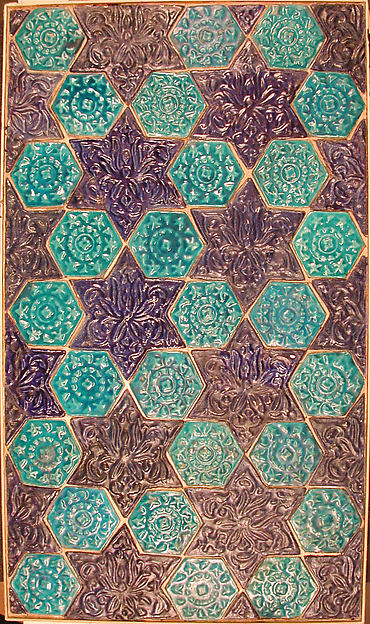 Star- and Hexagonal-Tile Panel | The Met