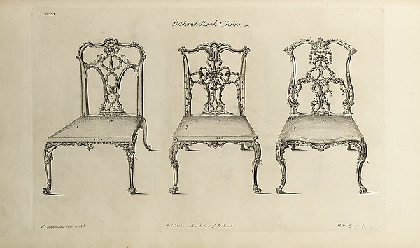 Thomas Chippendale | The Gentleman and Cabinet-maker's Director ...
