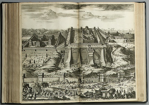 Asia; oder, Genaue und grundliche Beschreibung des gantzen Syrien und Palestins, oder belobten Landes . . ., Olfert Dapper (Dutch, 1635–1689), Illustrated book, Amsterdam : Jacob von Meursen, 1681