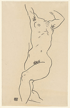 Torso of a Reclining Nude