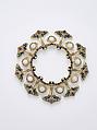 Necklace, René-Jules Lalique (French, Aÿ 1860–1945 Paris), Gold, enamel, opals, amethysts