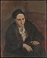 Gertrude Stein, Pablo Picasso (Spanish, Malaga 1881–1973 Mougins, France), Oil on canvas
