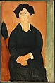 The Italian Woman, Amedeo Modigliani (Italian, Livorno 1884–1920 Paris), Oil on canvas