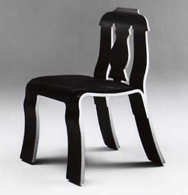 #663  Empire  Chair Robert Venturi (American born Philadelphia Pennsylvania & Robert Venturi | #663