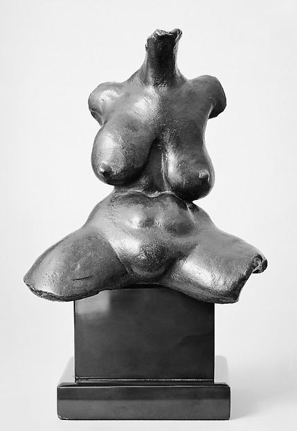 Torso, Gaston Lachaise (American (born France) 1882–1935), Bronze
