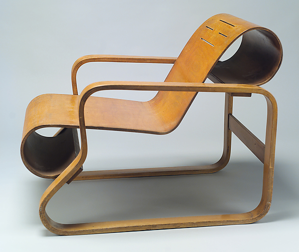 Model No 41 Lounge Chair Artist Alvar Aalto