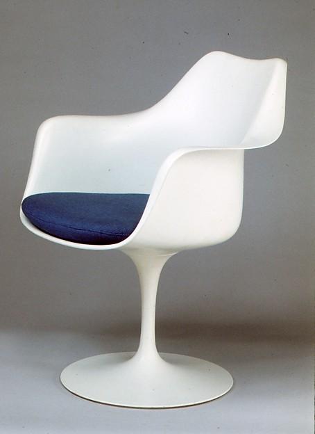 eero saarinen tulip armchair model no 150 the met