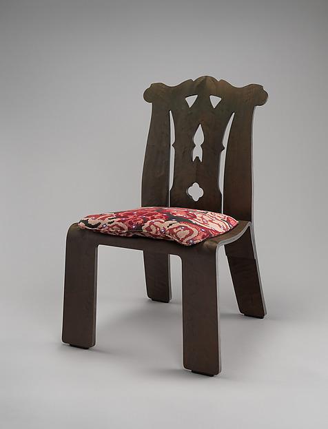 #662  Chippendale  Chair Robert Venturi (American born Philadelphia Pennsylvania & Robert Venturi   #662