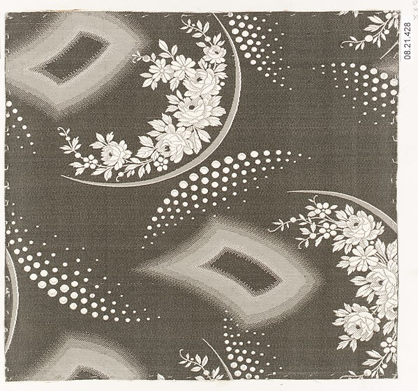 Textile sample, Unknown Designer, Silk