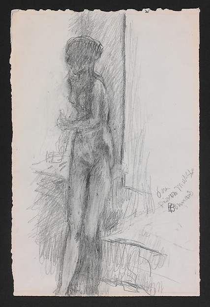 Nude, Pierre Bonnard (French, Fontenay-aux-Roses 1867–1947 Le Cannet), Graphite on paper