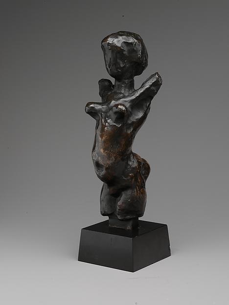 Female Torso, Henri Matisse (French, Le Cateau-Cambrésis 1869–1954 Nice), Bronze, 2/10