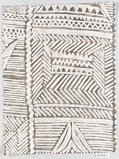 """Mayan"" Textile sample, Fortuny (Italian, founded 1906), Cotton"