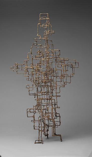 Monoceros, Ibram Lassaw (American (born Egypt), Alexandria 1913–2003 East Hampton, New York), Bronze and manganese bronze fused over galvanized wire