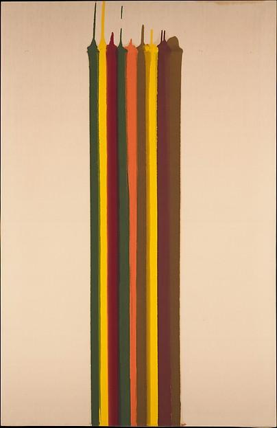 Pungent Distances, Morris Louis (American, 1912–1962), Magna on canvas