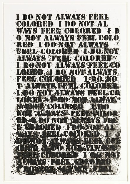 Untitled: Four Etchings, Glenn Ligon (American, born New York, New York, 1960), Portfolio of 4 etchings