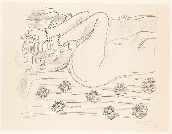Movement of Legs, Henri Matisse (French, Le Cateau-Cambrésis 1869–1954 Nice), Lithograph on paper, edition 24/50