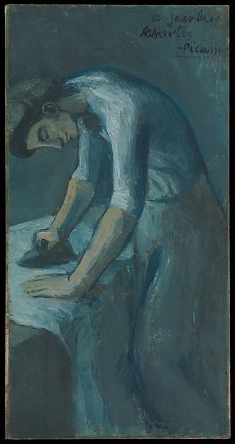 Woman Ironing Pablo Picasso Spanish Malaga 1881 1973 Mougins France