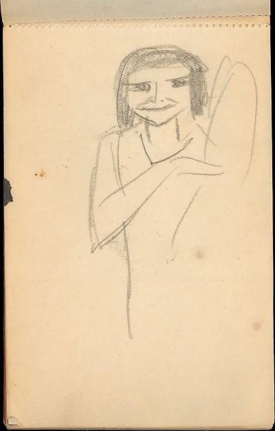 Sketchbook, Max Beckmann (German, Leipzig 1884–1950 New York), Graphite on paper