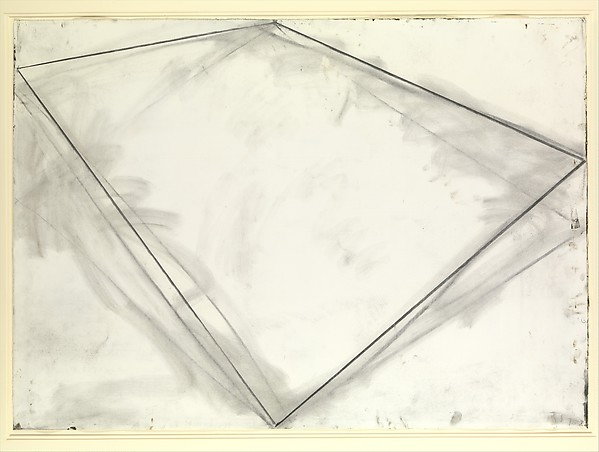 Untitled, Richard Serra (American, born San Francisco, California, 1938), Charcoal on paper