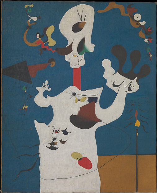 Potato, Joan Miró (Spanish, Barcelona 1893–1983 Palma de Mallorca), Oil on canvas