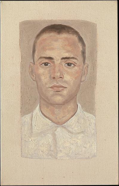 Faces #10, Y.Z. Kami (American, born Iran, Teheran 1956), Oil on canvas