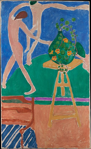 "Nasturtiums with the Painting ""Dance"" I, Henri Matisse (French, Le Cateau-Cambrésis 1869–1954 Nice), Oil on canvas"