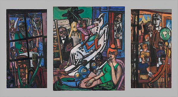 The Beginning, Max Beckmann (German, Leipzig 1884–1950 New York), Oil on canvas