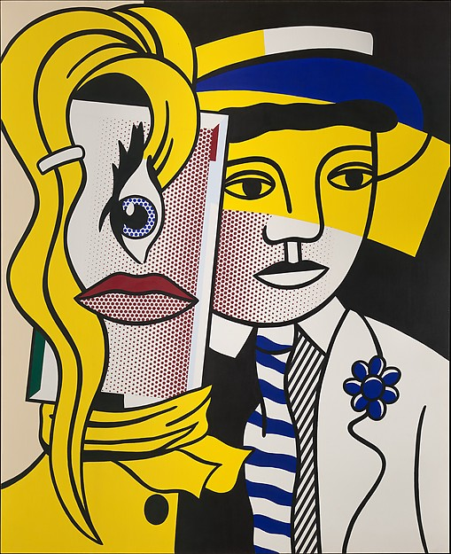 Roy Lichtenstein | Stepping Out | The Met