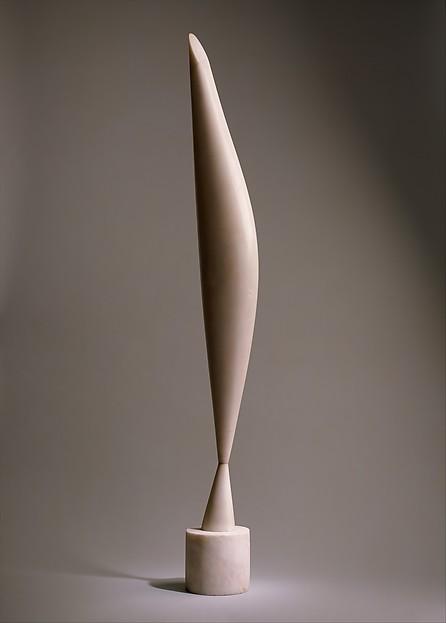 Bird in Space, Constantin Brancusi (French (born Romania), Hobita 1876–1957 Paris), Marble