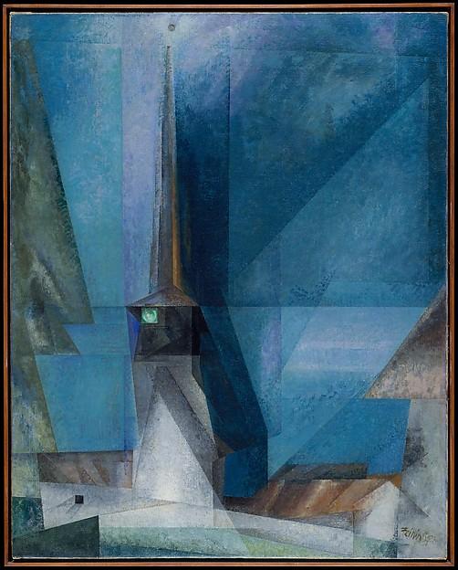 Gelmeroda, Lyonel Charles Feininger (American, New York 1871–1956 New York), Oil on canvas