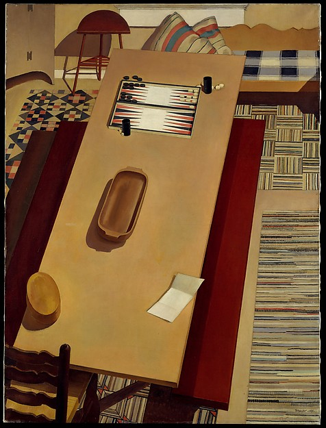 Americana, Charles Sheeler (American, Philadelphia, Pennsylvania 1883–1965 Dobbs Ferry, New York), Oil on canvas