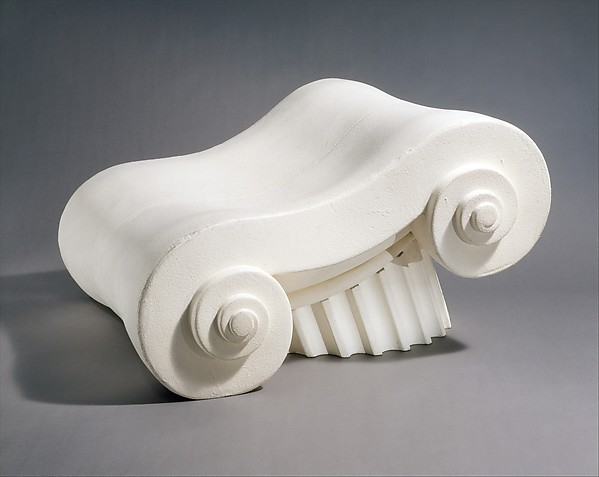 """Capitello"" Chair, Studio 65 (Italian), Polyurethane foam, latex rubber containing paint"