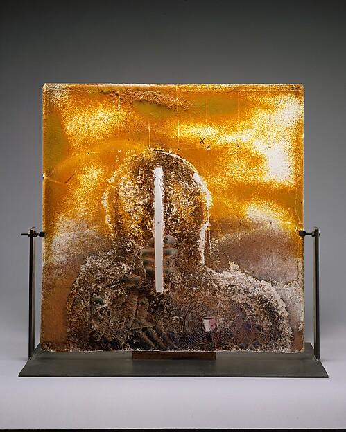 MAP III, Bertil Vallien (Swedish, born Stockholm, 1938), Glass and iron
