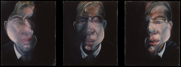 Three Studies for a Self-Portrait, Francis Bacon (British (born Ireland), Dublin 1909–1992 Madrid), Oil on canvas