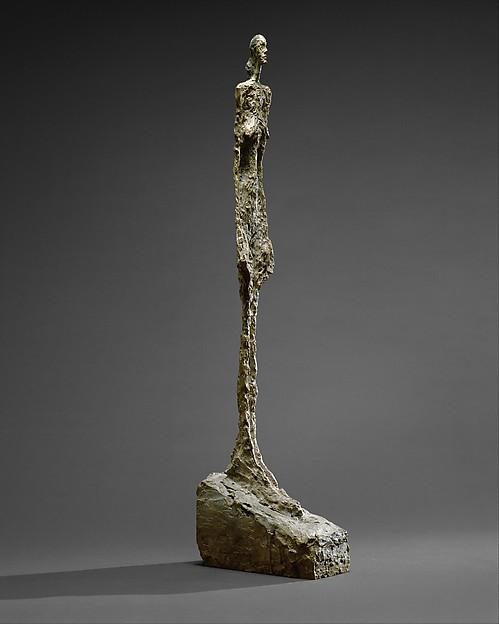 Woman of Venice II, Alberto Giacometti (Swiss, Borgonovo 1901–1966 Chur), Painted bronze