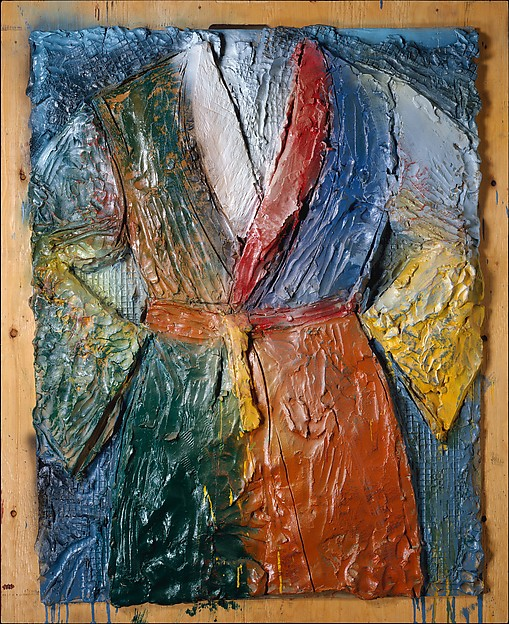 Walla Walla Robe, Jim Dine (American, born Cincinnati, Ohio, 1935), Painted bronze