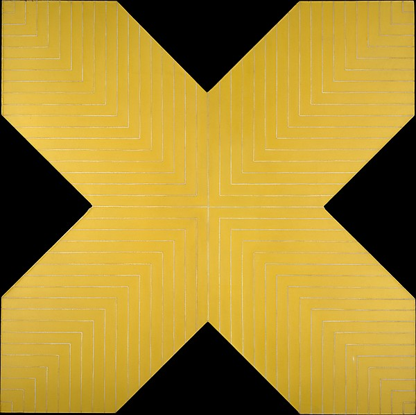 Haines City, Frank Stella (American, born Malden, Massachusetts, 1936), Alkyd on canvas