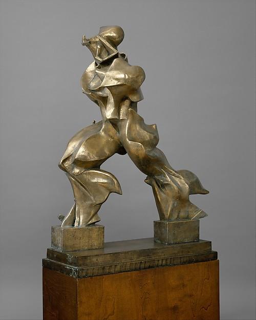 Unique Forms of Continuity in Space, Umberto Boccioni (Italian, Reggio 1882–1916 Sorte), Bronze